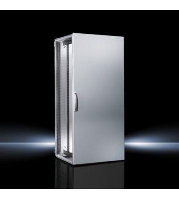 Rittal TS IT 42U serverkast met plaatstalen deuren, afmetingen (BxHxD) 800x2000x800mm