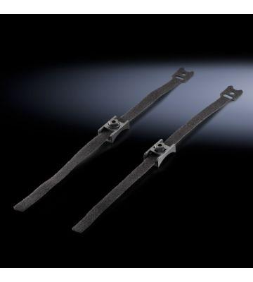 Rittal TS IT 10x Klittenband met houder, 400mm