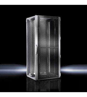 Rittal TS IT 42U serverkast met geperforeerde deuren, afmetingen (BxHxD) 800x2000x1000mm