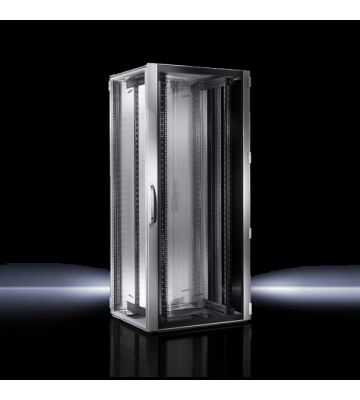Rittal TS IT 42U serverkast met zichtdeur, afmetingen (BxHxD) 600x2000x1200mm