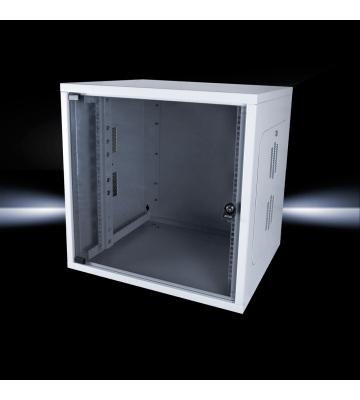 Rittal QE 9U 19 inch Wandkast, afmetingen (BxHxD) 600x468x500mm